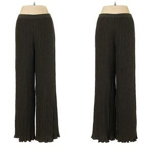 RENA LANGE Gray High Rise Waist Pants
